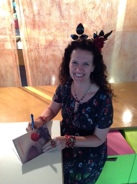 Julie Signing Brisbane Writers Festival 2015